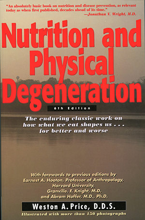 traditional nutrition book